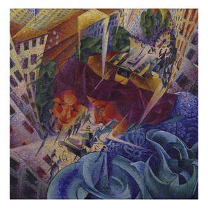 Simultaneous Vision by Umberto Boccioni