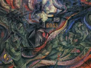 Stage of Mind: The Farewells by Umberto Boccioni