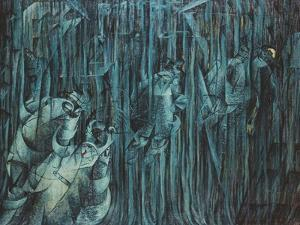 States of Mind: Those Who Stay, 1911 by Umberto Boccioni
