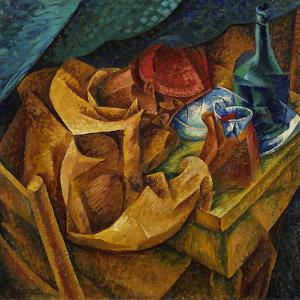 The Drinker by Umberto Boccioni
