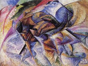 The Dynamism of a Cyclist by Umberto Boccioni