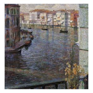 The Grand Canal in Venice by Umberto Boccioni