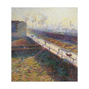 The Morning by Umberto Boccioni