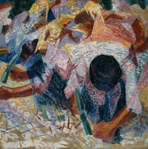The Street Pavers, 1914 by Umberto Boccioni