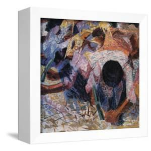 The Street Pavers by Umberto Boccioni