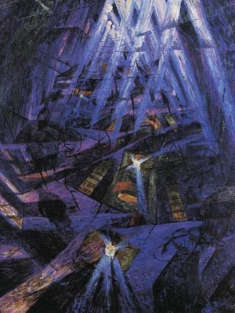 The Strengths of a Street by Umberto Boccioni