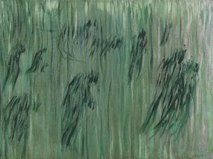 """Those Who Stay or Study for """"States of Mind"""" or """"Those Who Stay"""" or States of Mind (I) by Umberto Boccioni"""