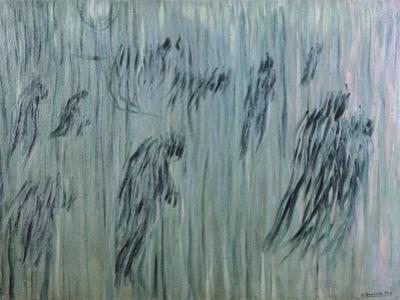 Those Who Stay by Umberto Boccioni