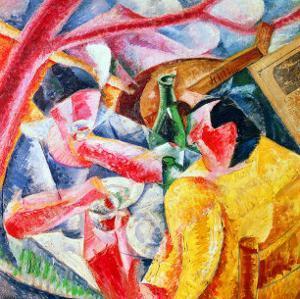 Under the Pergola at Naples, 1914 by Umberto Boccioni