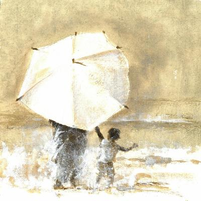 Umbrella and Child 2, 2015-Lincoln Seligman-Giclee Print
