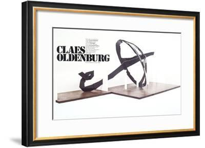 Umbrella-Claes Oldenburg-Framed Art Print