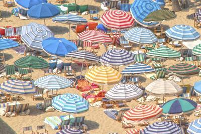 Umbrellas I--Art Print