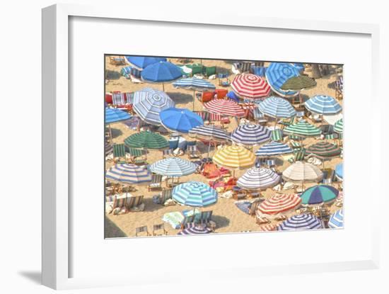 Umbrellas I--Framed Art Print