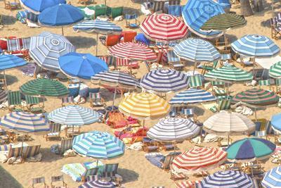 Umbrellas I--Premium Giclee Print