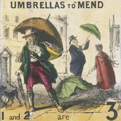 Umbrellas to Mend, Cries of London, C1840-TH Jones-Giclee Print