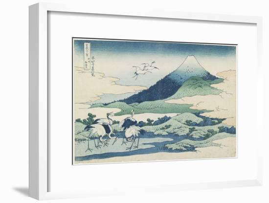 Umezawa Village in Sagami Province, 1831-1834-Katsushika Hokusai-Framed Giclee Print