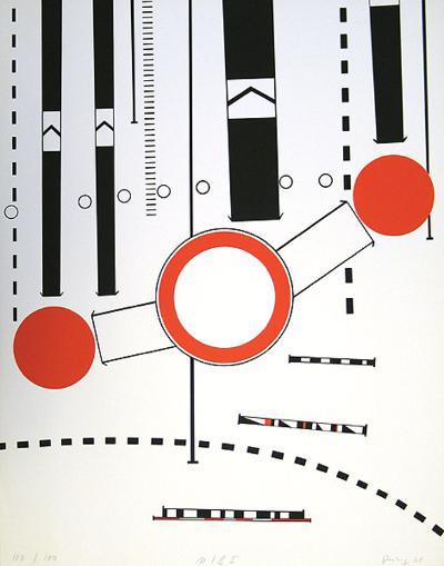 Umleitung I-Peter Br?ning-Collectable Print