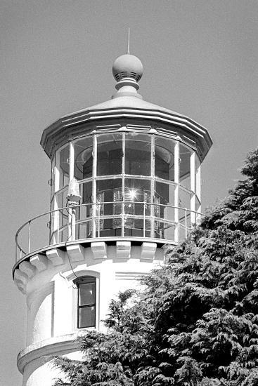 Umpqua River Lighthouse BW-Douglas Taylor-Photographic Print