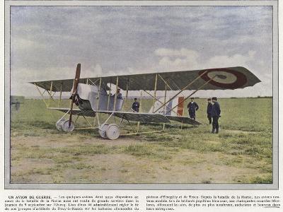 Un Avion De Guerre-Jules Gervais-Courtellemont-Photographic Print
