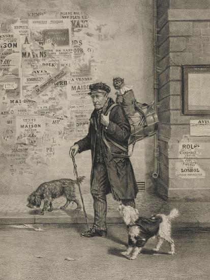 Un directeur et sa troupe--Giclee Print