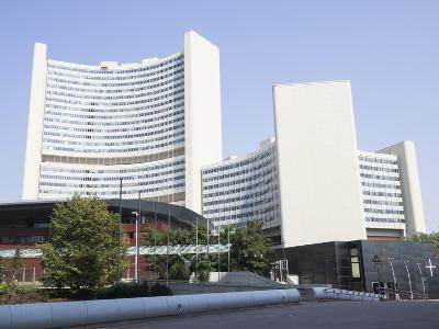 Un Headquarters, Vienna International Centre, Danube City, Vienna, Austria-Jean Brooks-Photographic Print