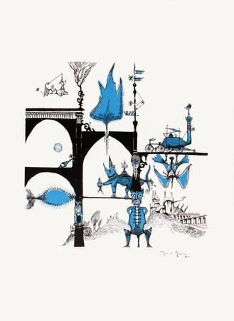 Un monde imaginaire I-Marcel Genay-Collectable Print