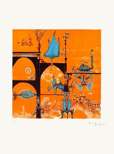 Un Monde Imaginaire-Marcel Genay-Collectable Print