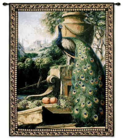 Un Paradise in Terra-Paul Panossian-Wall Tapestry