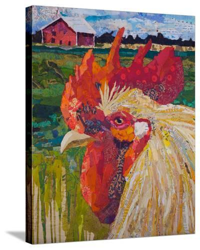 Un Petit Coq #2-40X34 2--Stretched Canvas Print