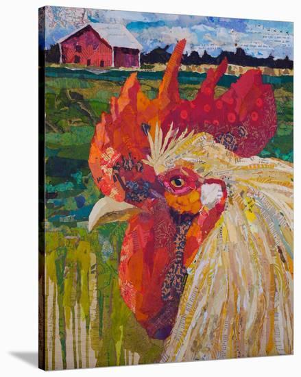 Un Petit Coq #2-40X34 2--Stretched Canvas Print
