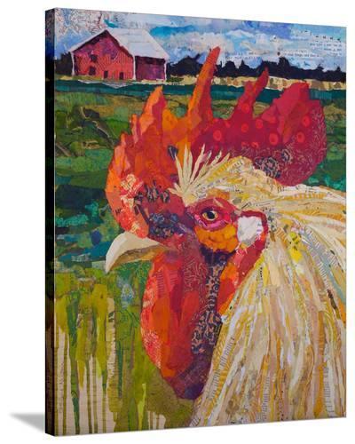 Un Petit Coq #2--Stretched Canvas Print
