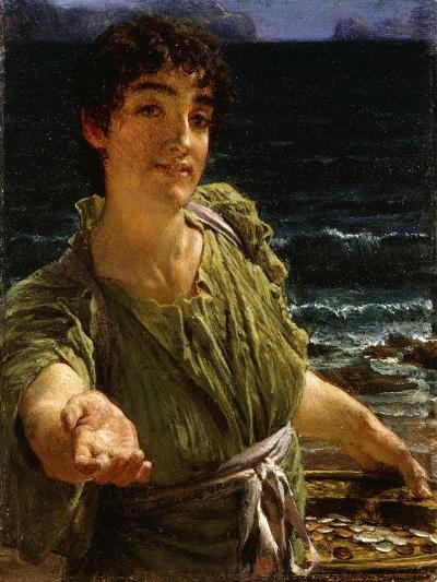 Una Carita-Sir Lawrence Alma-Tadema-Giclee Print