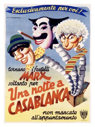Una Notte a Casablanca-Enrico Deseta-Giclee Print