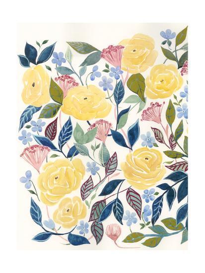 Unbound Blossoms I-Grace Popp-Art Print
