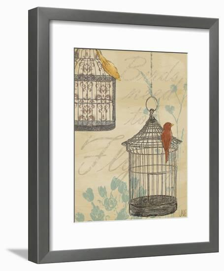 Uncaged I-Jade Reynolds-Framed Art Print