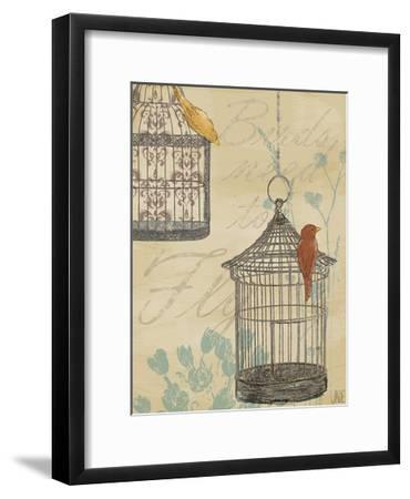 Uncaged I-Jade Reynolds-Framed Art Print