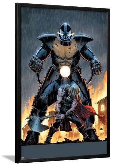 Uncanny Avengers #6 Cover: Apocalypse, Thor-John Cassaday-Lamina Framed Poster