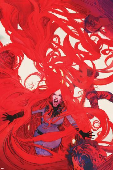 Uncanny Inhumans No. 6 Cover Featuring Medusa-Bill Sienkiewicz-Art Print