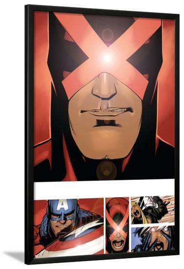 Uncanny X-Men #3 Featuring Cyclops-Chris Bachalo-Lamina Framed Poster