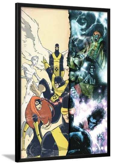 Uncanny X-Men: First Class Giant-Size Special No.1 Cover: Cyclops-Skottie Young-Lamina Framed Poster