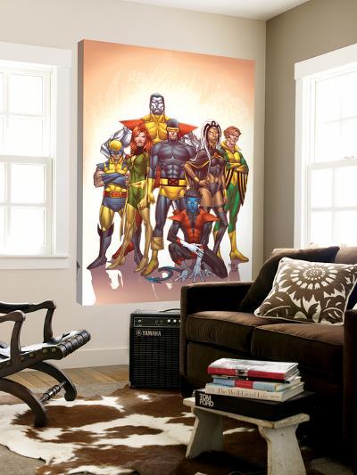 Uncanny X-Men: First Class No.1 Cover: Cyclops-Roger Cruz-Loft Art