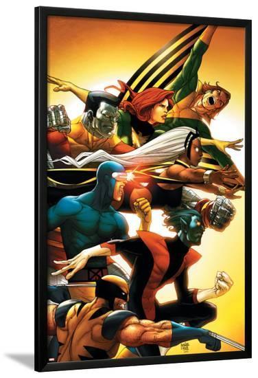 Uncanny X-Men: First Class No.5 Cover: Wolverine-Roger Cruz-Lamina Framed Poster