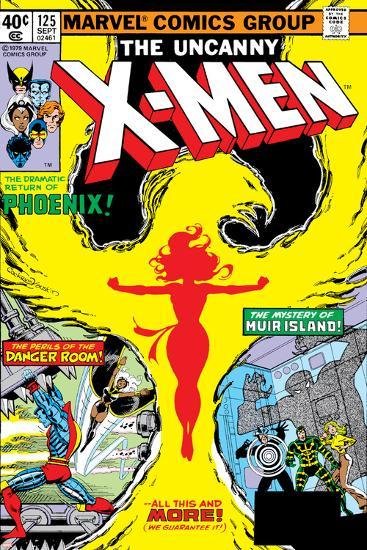 Uncanny X-Men No.125 Cover: Phoenix, Colossus, Storm, Madrox and Havok-John Byrne-Art Print