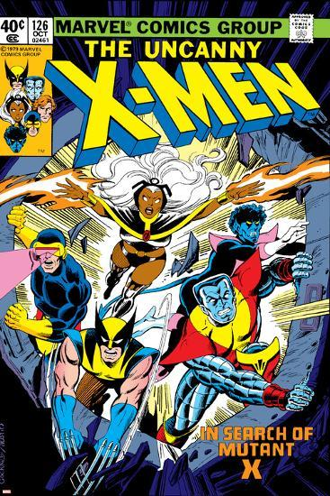 Uncanny X-Men No.126 Cover: Wolverine, Colossus, Storm, Cyclops, Nightcrawler and X-Men Fighting-Dave Cockrum-Art Print