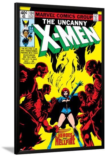 Uncanny X-Men No.134 Cover: Grey-John Byrne-Lamina Framed Poster