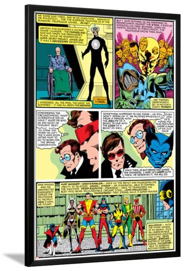 Uncanny X-Men No.138 Group: Havok-John Byrne-Lamina Framed Poster