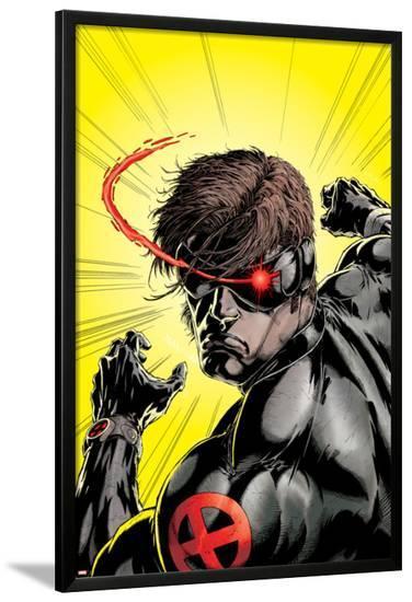 Uncanny X-Men No.391 Cover: Cyclops-Salvador Larroca-Lamina Framed Poster