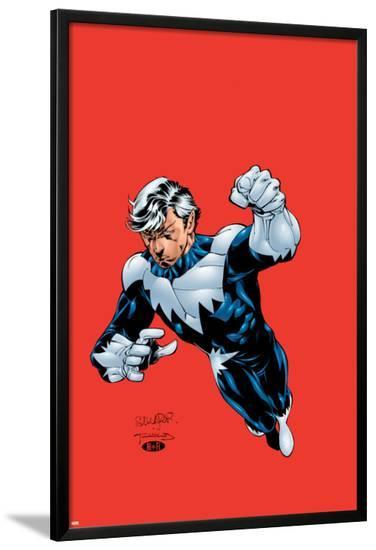 Uncanny X-Men No.392 Cover: Northstar-Salvador Larroca-Lamina Framed Poster