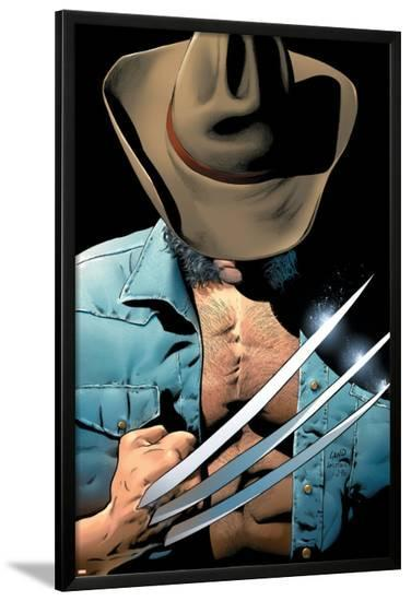 Uncanny X-Men No.448 Cover: Logan and Wolverine Fighting--Lamina Framed Poster