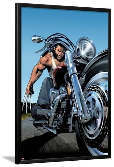 Uncanny X-Men No.453 Cover: Wolverine-Greg Land-Lamina Framed Poster